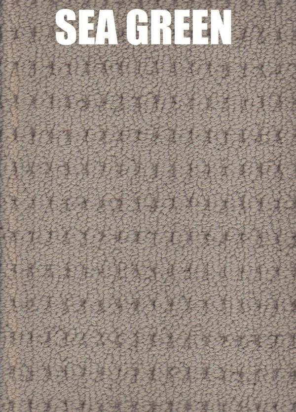 Sea Green - Arlington Lane Solution Dyed Nylon Carpet