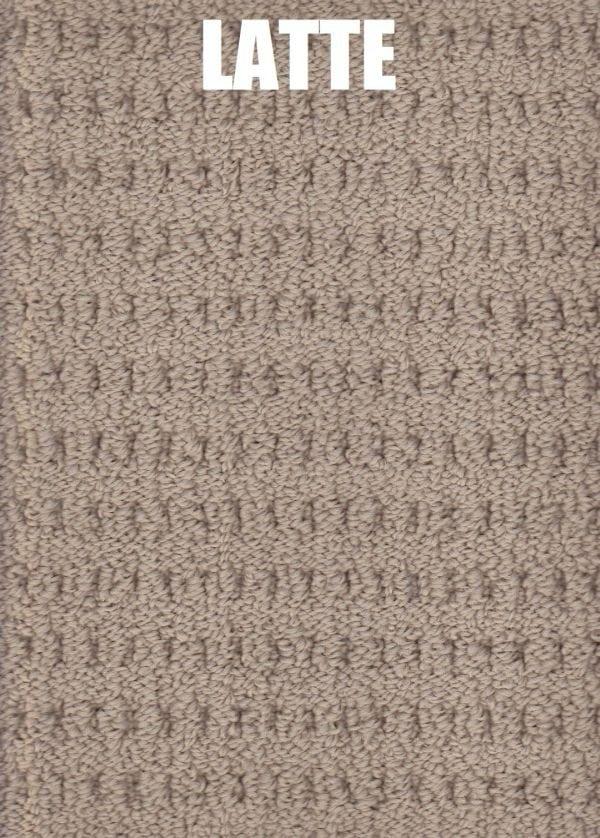 Latte - Arlington Lane Solution Dyed Nylon Carpet