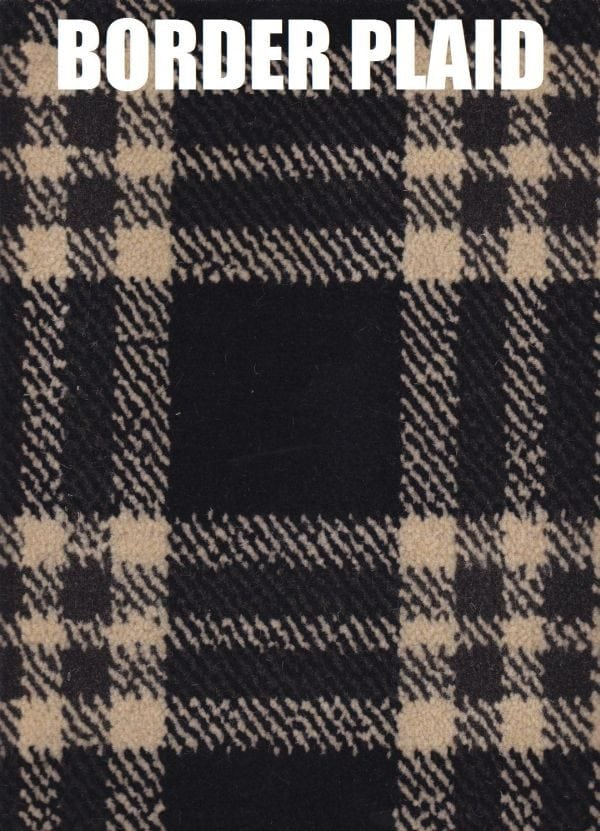 Border plaid Abbotsford Carpet Texture