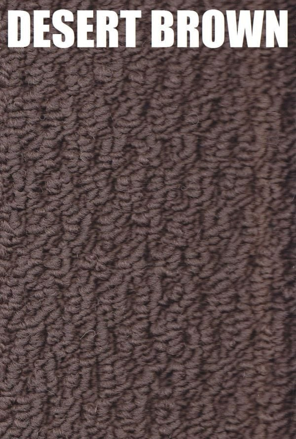 desert brown coloured - Beachcomber Polypropylene Carpet
