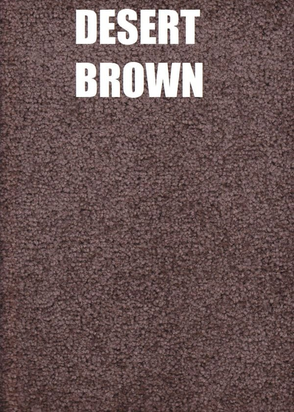 Deset brown carpet