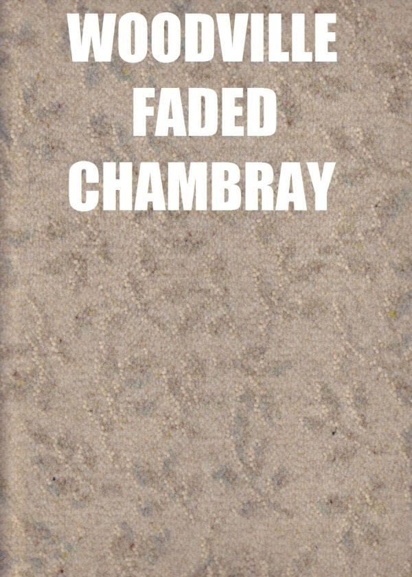 Woodsville faded chambray Laura Ashley collection carpet