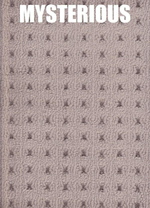 Mysterious carpet texture