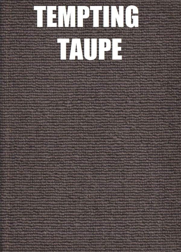 Tempting Taupe - Pique Drysdale Wool Carpet