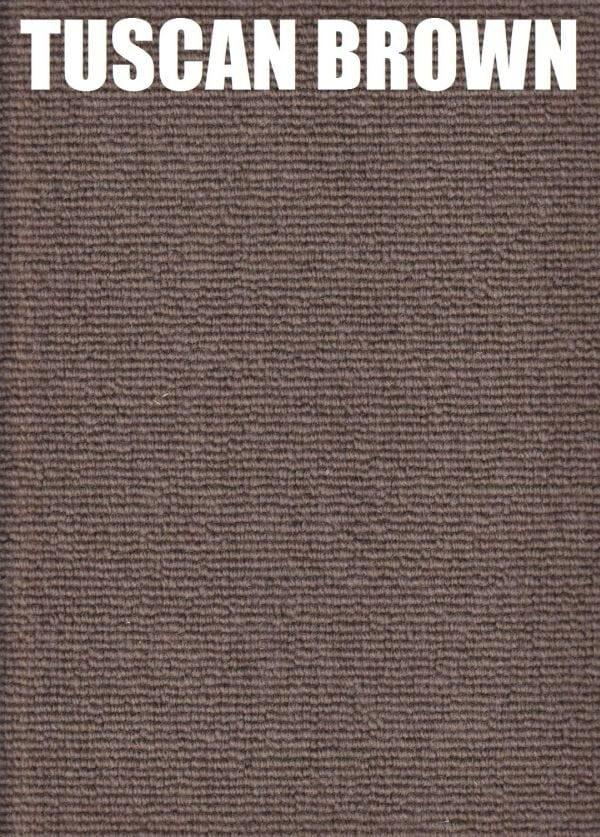 Tuscan Brown - Pique Drysdale Wool Carpet