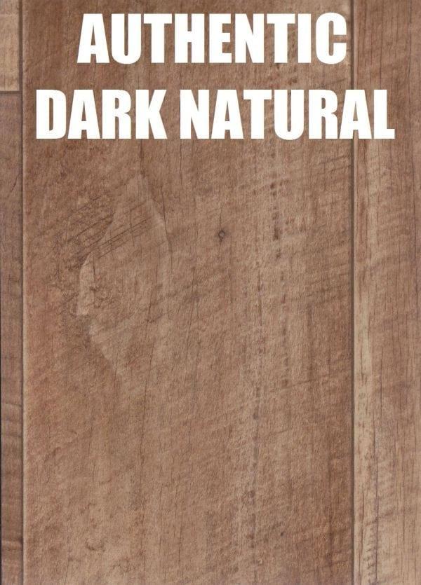 authentic dark natural timber look vinyl