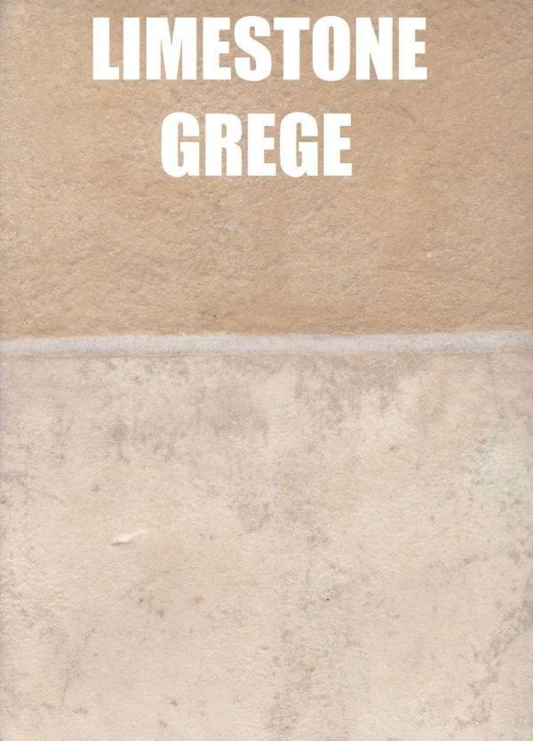 limestone grege tile look vinyl