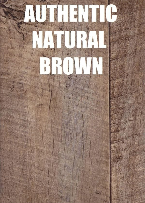 authentic natural brown timber look vinyl
