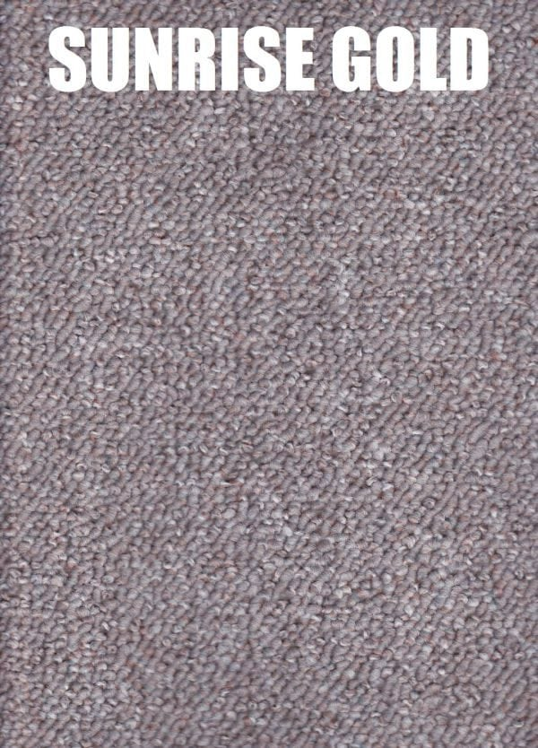 sunrise gold - encounter polypropylene carpet
