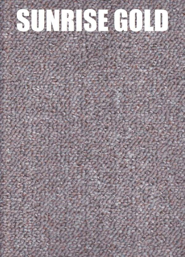 sunrise gold - encounter polypropylene carpet