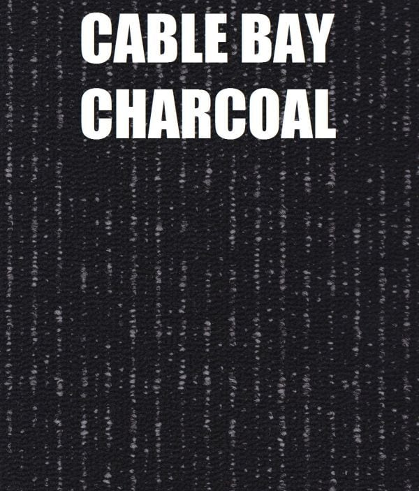 cable bay charcoal carpet tile pro
