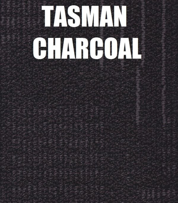tasman charcoal carpet tile pro